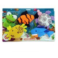 عروسک انگشتی شادی رویان طرح حیوانات دریایی