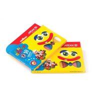 خمیر بازی 10 رنگ جعبه مقوایی آریا