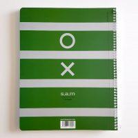 دفتر مشق ۱۲۰ برگ سم طرح XO GREENمحصول شرکت S.A.M
