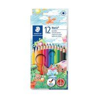 مداد رنگی 12 رنگ نوریس جعبه مقوایی استدلر