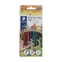 مداد رنگی 12 رنگ نوریس مدل وپکس جعبه مقوایی استدلر