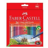 مداد رنگی 24 رنگ گریپ جعبه مقوایی فابرکاستل