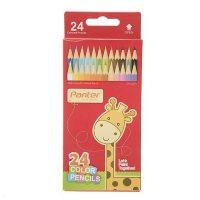 مداد رنگی 24 رنگ جعبه مقوایی پنتر