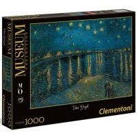 پازل ۱۰۰۰ تکه شب پرستاره بر فراز رون اثر ونسان ون گوگ
