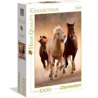 پازل ۱۰۰۰ تکه اسبها در حال دویدن