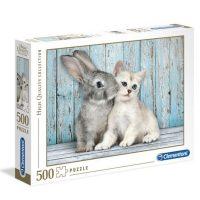 پازل ۵۰۰ تکه گربه و خرگوش