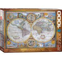 پازل ۱۰۰۰ تکه نقشه آنتیک جهان اثر جان اسپی